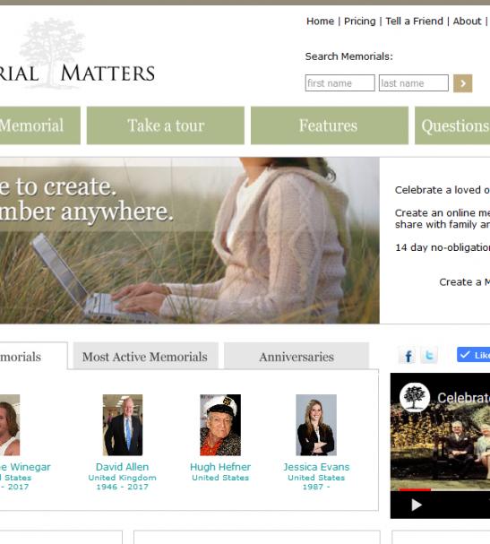 Memorial Matters LocalGoodz Toronto Buy Local Shop