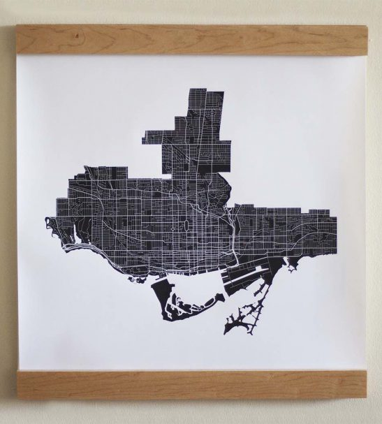Toronto Map frame LocalGoodz.com Toronto Buy Local Shop Local