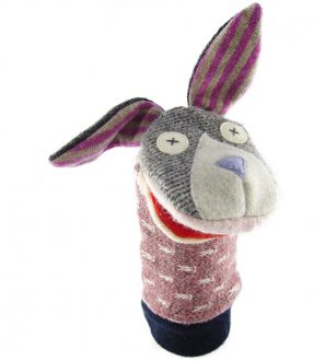 Cate and Levi Handmade Bunny Hand Puppet