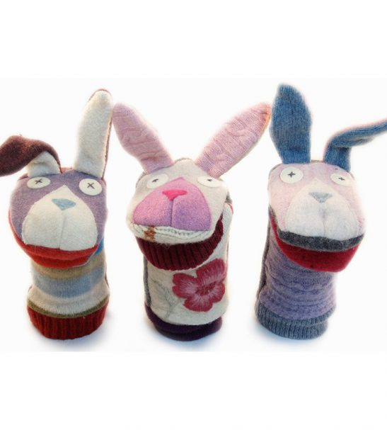 Cate and Levi Handmade Bunny Hand Puppet2