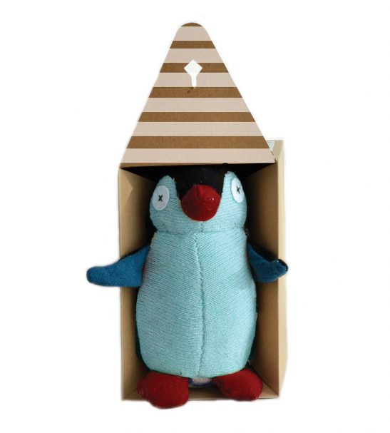 Cate and Levi Handmade Penguin Plush Stuffed Animal Making Kit2
