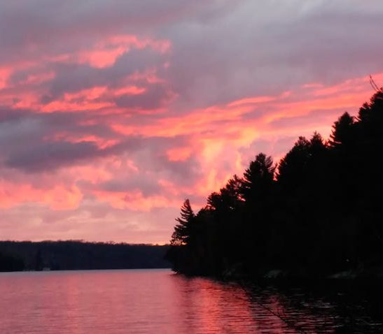 XPANSIONFestival.com @ Birchwood Camp - Lake Cecebe Sunset